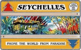 *IS. SEYCHELLES* - Scheda Usata - Seychellen