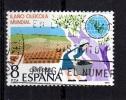 España  Año 1979  Yvert Nr. 2203  Sello Usado  Año Oleicola Internacional - 1931-Hoy: 2ª República - ... Juan Carlos I