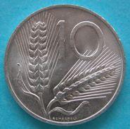 Repubblica 10 Lire Spiga 1954  Fdc - 1946-… : République