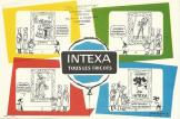 Buvard Intexa Tous Les Tricots - Buvards, Protège-cahiers Illustrés