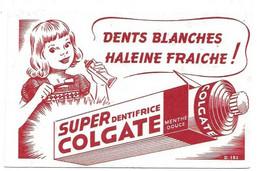 Buvard Super Dentifrice Colgate - Buvards, Protège-cahiers Illustrés