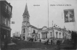 L´église, La Poste Et La Mairie - Garches