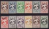 AFRIQUE EQUATORIALE FRANCAISE 1941 AEF Sc#142-155 (#188,151 Lack)  MH & USED) - Sin Clasificación