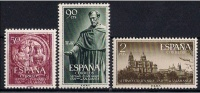 ESPAÑA 1953 - VII CENTENARIO DE LA UNIVERSIDAD DE SALAMANCA - EDIFIL Nº 1126-1128** - 1951-60 Ongebruikt