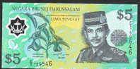 BRUNEI : 5  Ringgit  - P23 - 2002 - UNC - Brunei