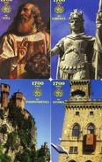 *SAN MARINO - N. 7047/7050* -  Serie Completa NUOVA (MINT) - San Marino