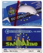 *SAN MARINO - N. C7002 (EUROPA CARD SHOW '98)* -  Scheda NUOVA (MINT) - San Marino