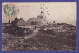I267)  BEG MEIL  Semaphore 1907 ( TTB état ,timbre En Partie Manquant Sans AUCUN DEGAT  Pour La Cpa ) - Beg Meil