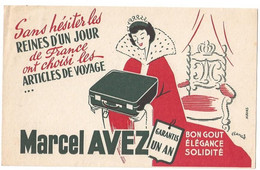 Buvard Marcel Avez Sacs De Voyage - Vloeipapier