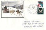 USA. Transport De Courrier Par Traineaux  Duluth. Minnesota, Lettre Adressée Au Missouri - Schmuck-FDC