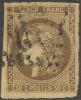# France 46, Used, 4 Good Margins,  Sound, (fr046-9, Michel 42a [16-BBE - 1870 Emission De Bordeaux