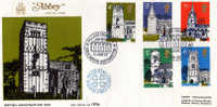 Abbayes Anglaises Celebres. FDC Tirage Limite A 2000 Ex. Numerote # 1896.  PRIX REDUIT ! - Kerken En Kathedralen