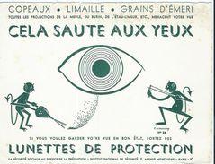 Buvard Lunettes De Protection - Buvards, Protège-cahiers Illustrés