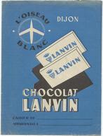 Protège Cahier Chocolat Lanvin - Protège-cahiers