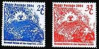 Land Of Muggy Fantasy Issue- Second Union Of Capitals Set 2004 - Cinderellas