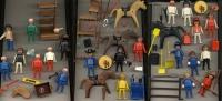 Lot Playmobils - Personnages Accessoires Années 70-80 - Jouets Anciens