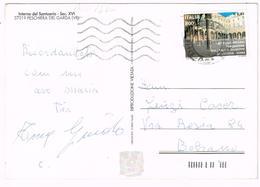 A1076 Santuario Della Madonna Del Frassino - Peschiera Del Garda (Verona) / 800 Lire 2000 Collegio San Giuseppe Merode - 6. 1946-.. Repubblica