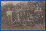 Privat-Foto-AK; Sport; Sportverein; Mädchengruppe; Ca 1920 - Cartes Postales