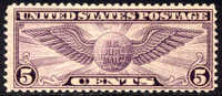 US C16 Mint Never Hinged 5c Airmail From 1931 - Air Mail