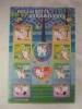 2009 JAPAN HELLO KITTY & DEAR DANIEL SHEETLET - Blocks & Sheetlets