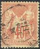 France    74, Used , 4 Margins, Sound      (fr074-2           Mich 65l       [16-CE - 1876-1878 Sage (Type I)
