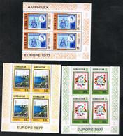 GIBILTERRA (GIBRALTAR) - UNIF. 364.366 - 1977   EUROPA CEPT : TURISMO  - MINIFOGLI NUOVI (MINT)** - 1977
