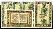 Germany Old City Banknotes Set, Notgeld Blogau 1920, Look! - [11] Lokale Uitgaven