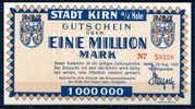 Germany Old City Banknotes Set, Notgeld 1923 Stadt Kirn, Look! - [11] Lokale Uitgaven