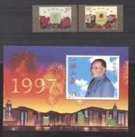 Chine  -  1997  :  Yv  3480-81  +  Blocs 88-89  **