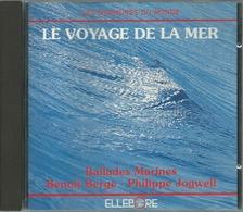 - CD LES MURMURES DU MONDE LE VOYAGE DE LA MER - Música & Instrumentos