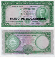 MOZAMBIQUE - 100 ESCUDOS 1961 - UNC ( Pick 117 ) - Mozambique