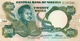NIGERIA ND 20 Naira AUNC 1995 - Nigeria