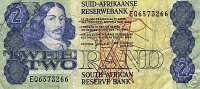 South Africa, 2 Rand Banknote ND (1983-90), - South Africa