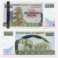 ZIMBABWE 1000 DOLLARS 2001 UNC - Simbabwe