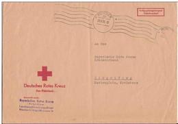 Prisonnier De Guerre Allemand - Lettre Croix-rouge Allemande De Munich - 1956 - BRD