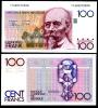 Belgium 100 Francs ND 1982-1998 P 140 VF Hendrik Beyaert - Bélgica