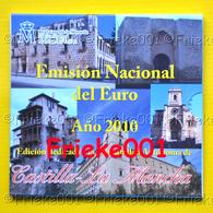 Spanje - Espagne - Officiële Set 2010 BU.(Castilla La Mancha) - Espagne