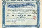 ANDERLECHT- Les Nouvelles Usines Bollinckx SA - Bon De Caisse De 500 Fr - Actions & Titres