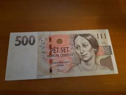 CZECHOSLOVAKIA 500 KORUN 1997 P 20 BANKNOTE - Tchécoslovaquie