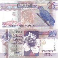 SEYCHELLES 25 RUPEES ND (1998) P37 UNCIRCULATED - Seychelles