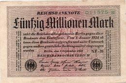 GERMANY GERMANIA 20000 Mark 1923 REICHSBANKNOTE - Allemagne