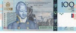 HAITI 100 GOURDES 2010 P NEW UNC - Haïti