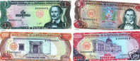 Dominican Republic 1984 - Pesos Oro UNC ESPECIMEN Set - Dominicaine