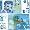 Serbia 100 Dinara 2006 P-New UNC N.Tesla - Bankbiljetten