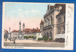 Österreich; Korneuburg; Gruss Aus AK; Litho 1903 - Korneuburg