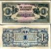 MALAYA JAPANESE OCCUPATION 1 DOLLAR P M5 AU-UNC - Japan