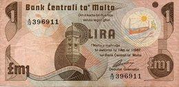 Malta. £1.(1949). Good Extremely Fine. - Malte