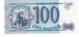 * RUSSIA - 100 RUBLES 1993 UNC - P 254 - Russie