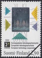 Specimen, Finland Sc887 Technology, Hologram Stamp - Hologrammes