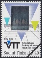 Specimen, Finland Sc888 Technology, Hologram Stamp - Hologrammes